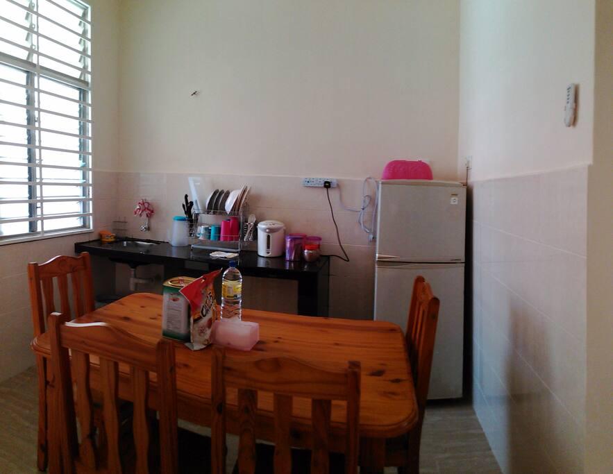 dry kitchen