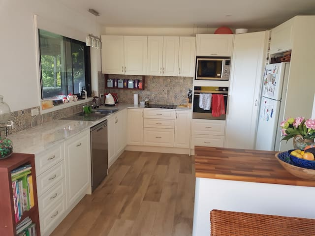 Kitchen, newly renovated available for you to use
