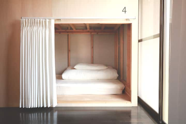 TIPS HOSTEL Mix or Female Dormitory 1 bed