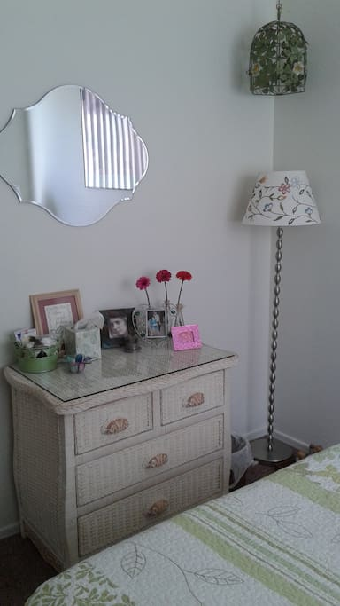 Dresser with lots of drawer space