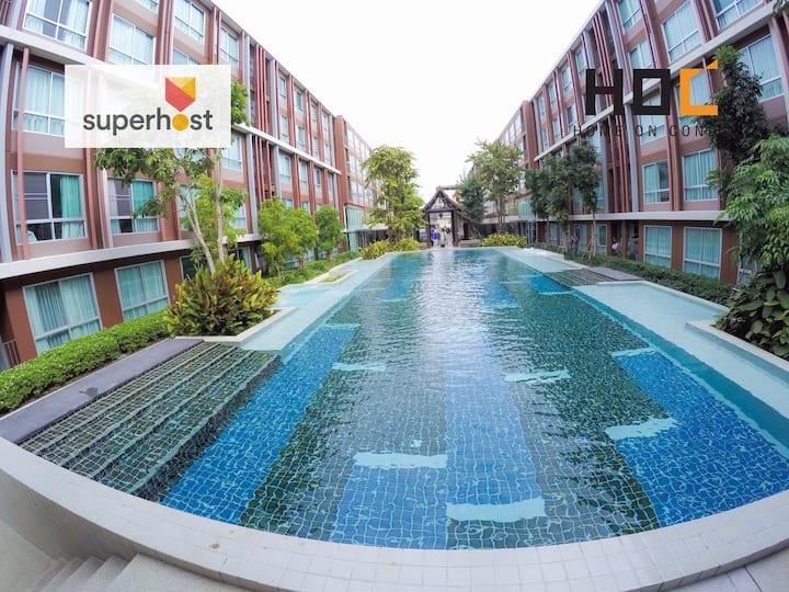 HOC2: Clean & Relax Apartment Santitham Chiang Mai