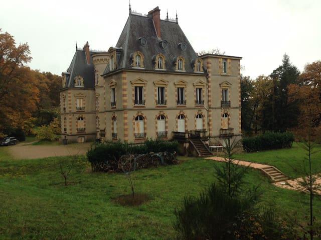 Gîte du Château de Prélay - Broye - 城堡