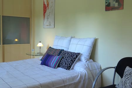 Double bedroom with private bathroom -wifi - La Canyada