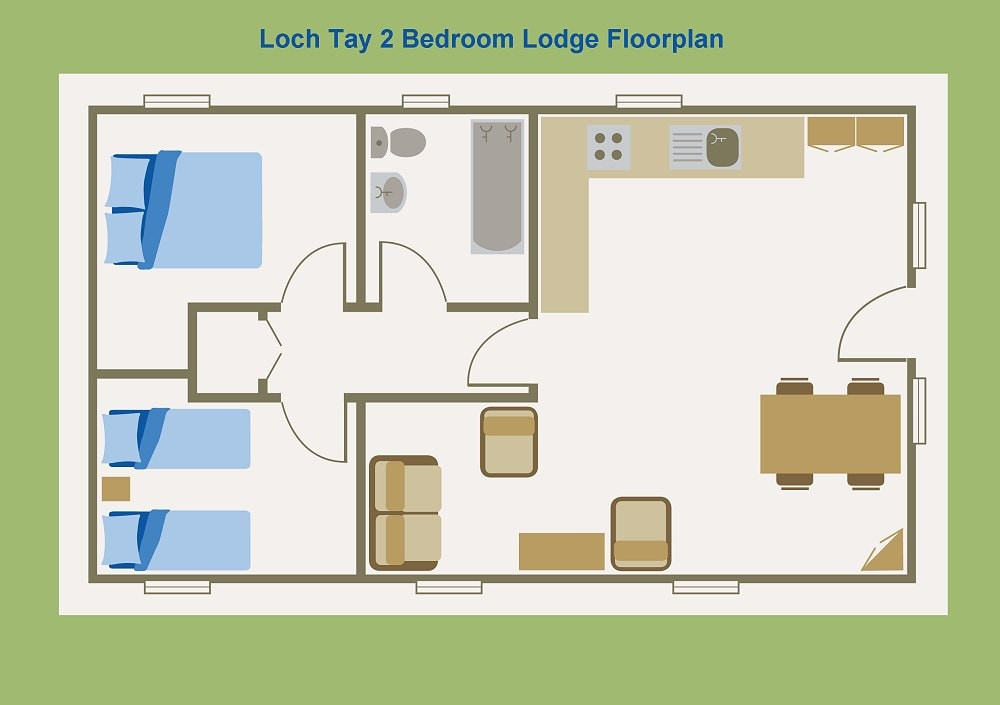 Morenish house floor plan