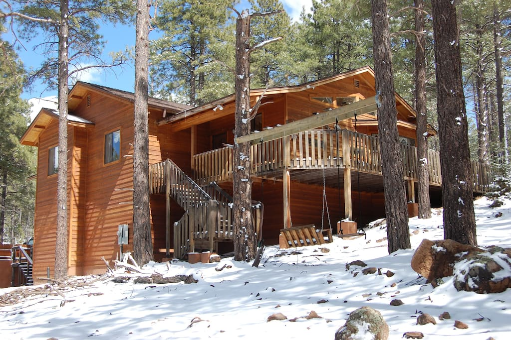 Luxury Cabin In The Pines Flagstaff Grand Canyon