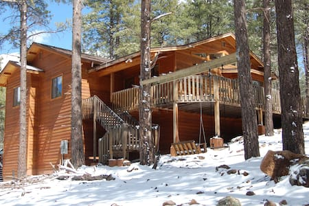 Luxury Cabin in the Pines, Flagstaff/ Grand Canyon - Parks - Casa de campo