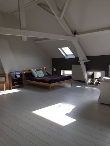 Attic full of charm in Genval, Brussels/Waterloo