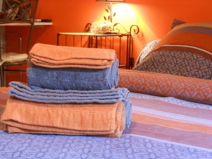 Studio (kitchenette) avec belle chambre à coucher