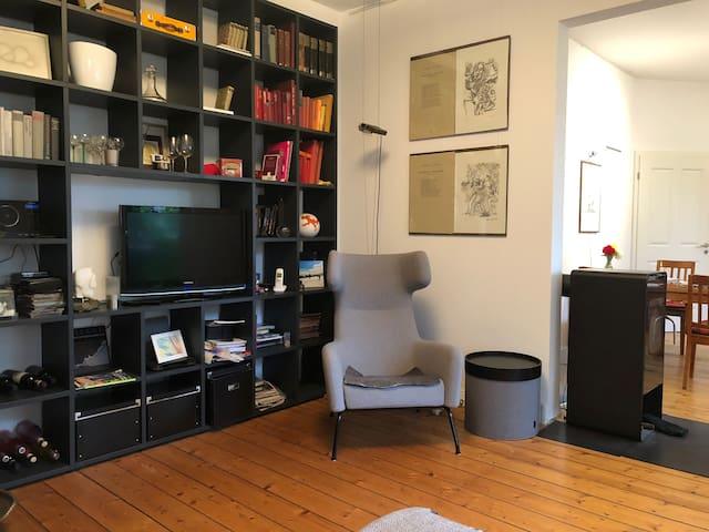 Moderne Wohnung in altem Zechenhaus
