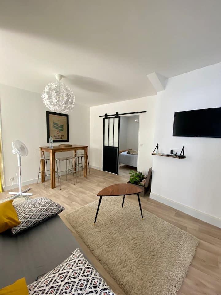 Agréable Appartement Proche Centre Ville 40 M2