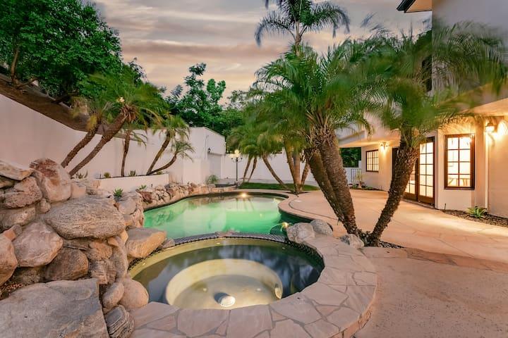 Beverly Glen Estate Villa