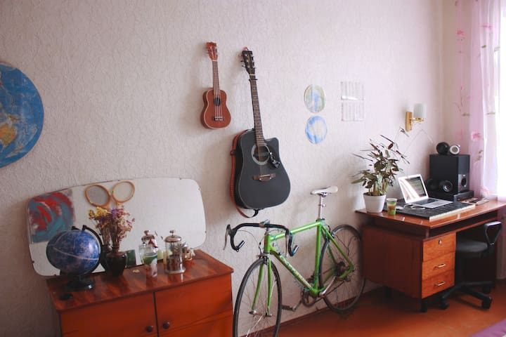 Lovely bright room in Dnipro centre