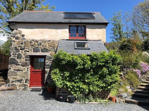 Praze Barn en la península de Lagarto, Cornualles