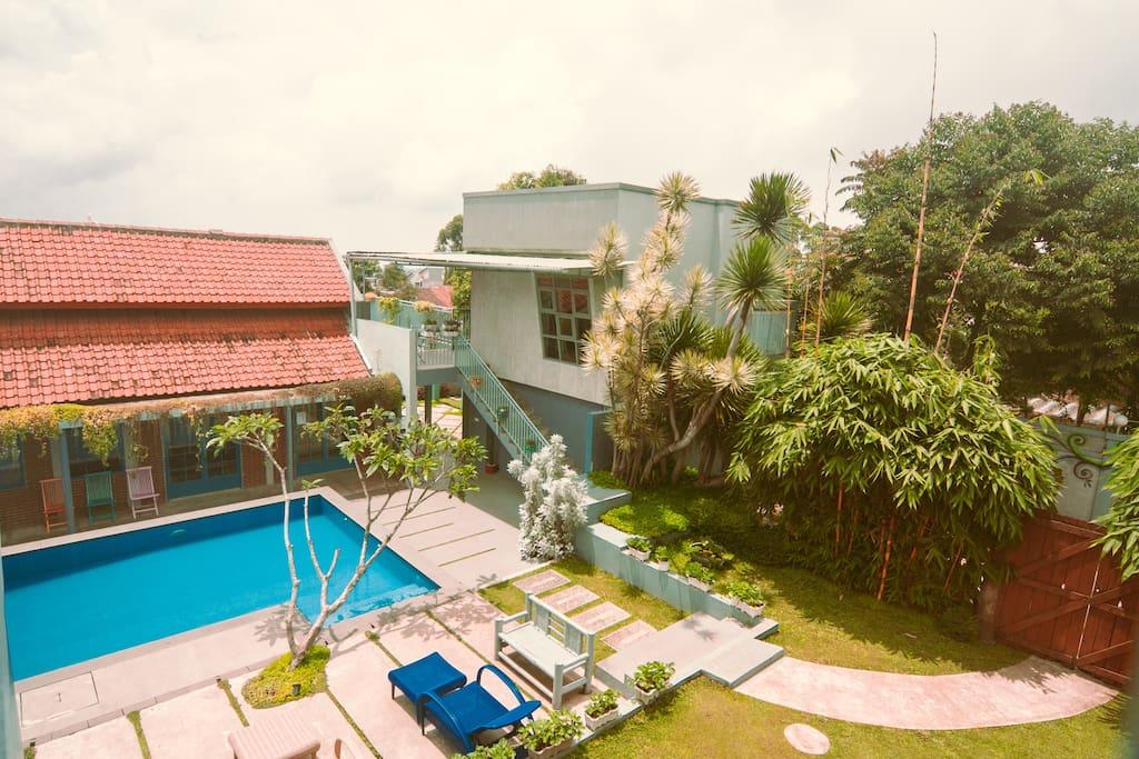 Barn Villa Lembang - Barns for Rent in Lembang, Jawa Barat ...