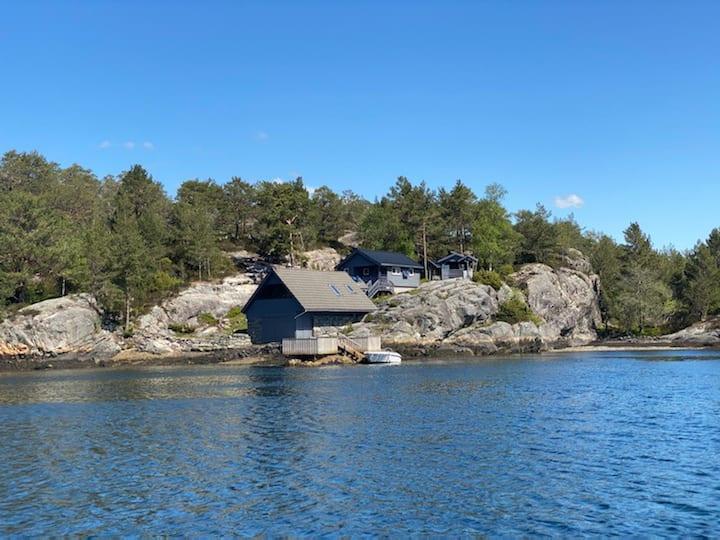 Idyllisk feriehytte i Masfjorden