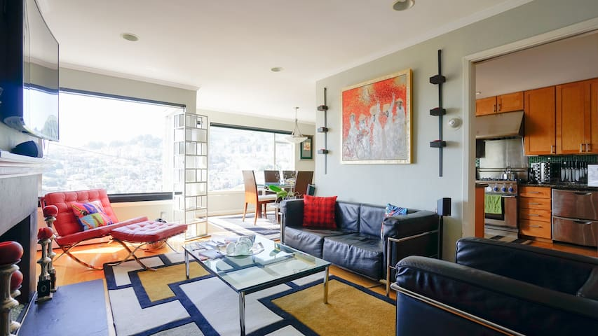 Castro / Corona Heights Charmer with a View (3 bd)