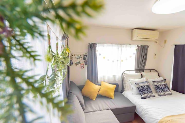 【新宿區】@免費隨身WI-FI~ 精緻暖心小公寓 JR站徒步可達 交通方便 整潔舒適