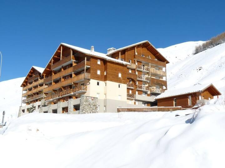 Appartement lumineux avec une belle vue montagne