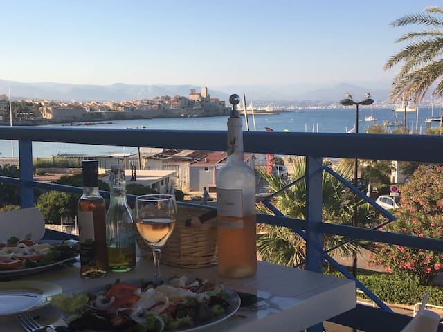 Spectacular 180 °seaview on Antibes, Nice and Cap - Antibes - Appartamento