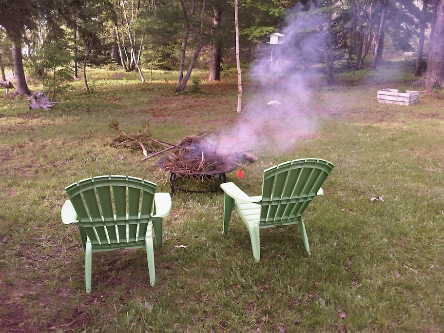 Nothing like campfires during cottage life