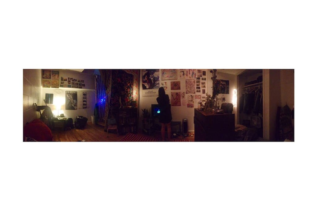 Panorama of Bedroom