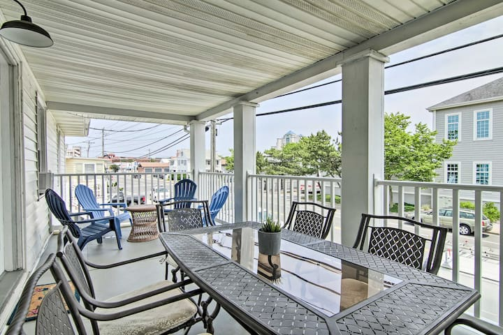 NEW! Modern Ocean City Condo 2 Blocks to Boardwalk
