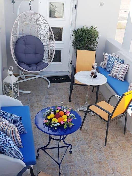 Shared terrace