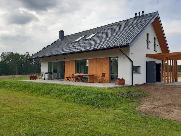 VILLA RA with garden and sauna at the Baltic Sea