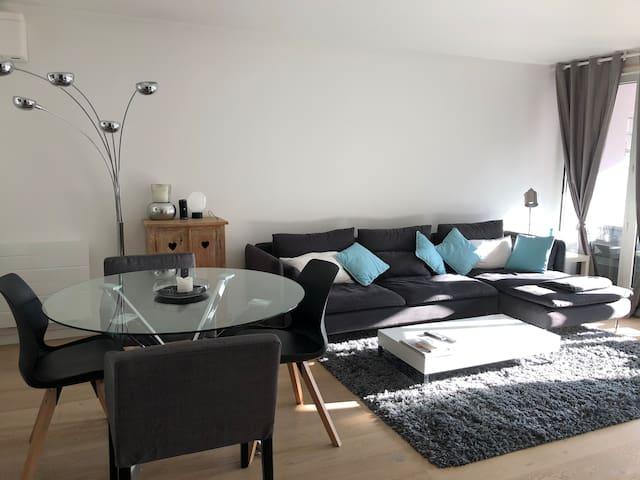 Esprit H design-clim terrasse 2 chambres  garage