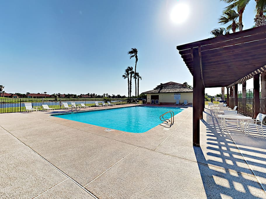 Enjoy access to a heated pool.