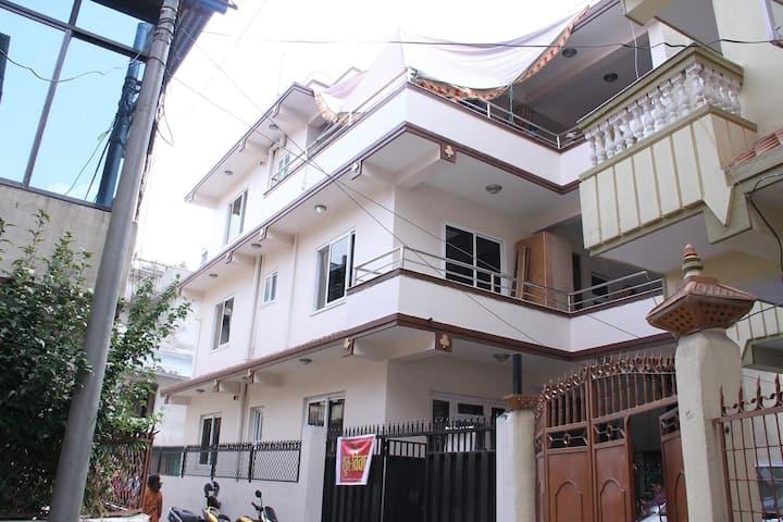 Raj Bala BnB, a Nepali Home : Room Sannidhya