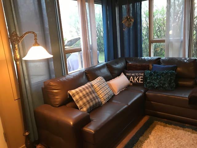 BNB Chez Loulou. Bien situé et confortable.