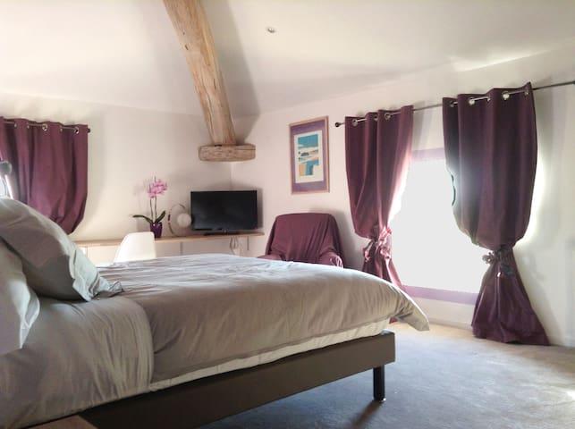 Demeure Flammarenc Aveyron Room - Albefeuille-Lagarde - Bed & Breakfast
