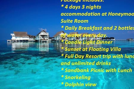Budget Honeymoon Pack Maldives - Daire