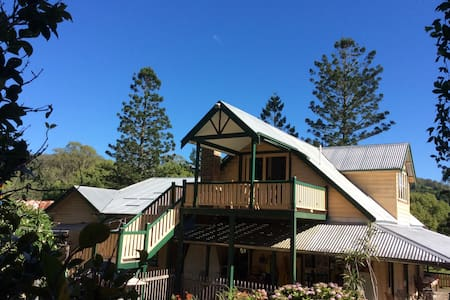 Farm loft self-contained near Nimbin/Lismore - Goolmangar