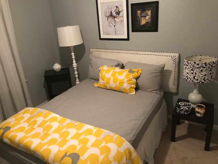 Private Bedroom Centrally Located.
