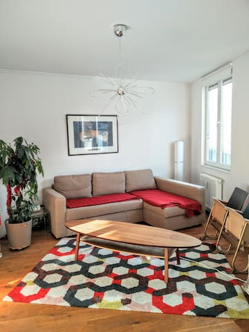 Nice appartment close to everything - Ixelles - Lejlighed