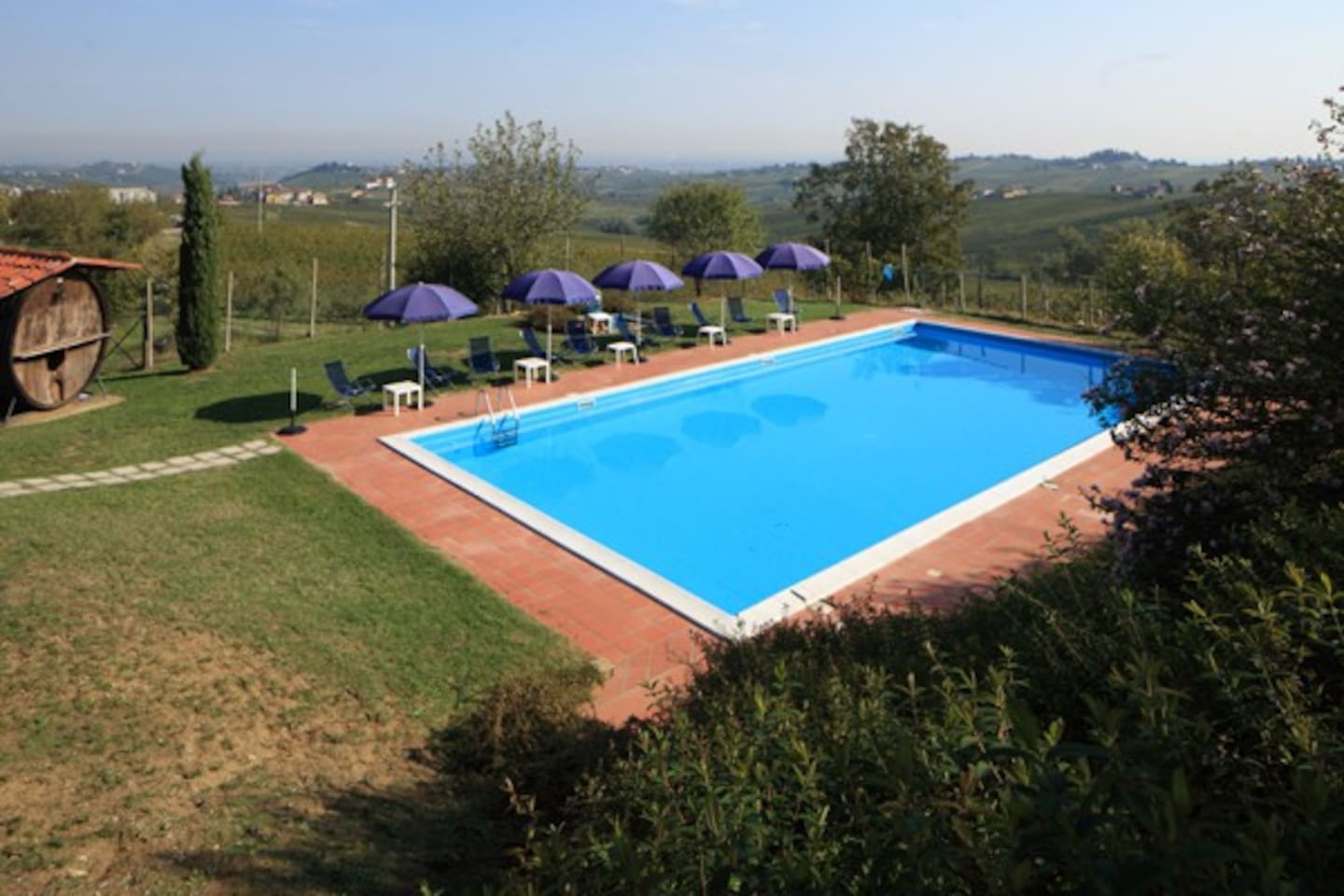 Podere Casale swimming pool
