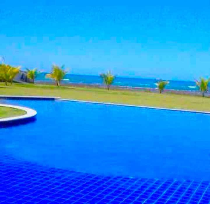 Lindo Duplex - VISTA MAR-Melhor praia de Guarajuba