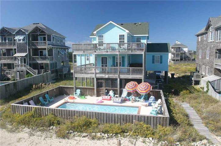 Look 'N Sea OCEANVIEW w/Htd Pool&HotTub, RecRoom, Pets
