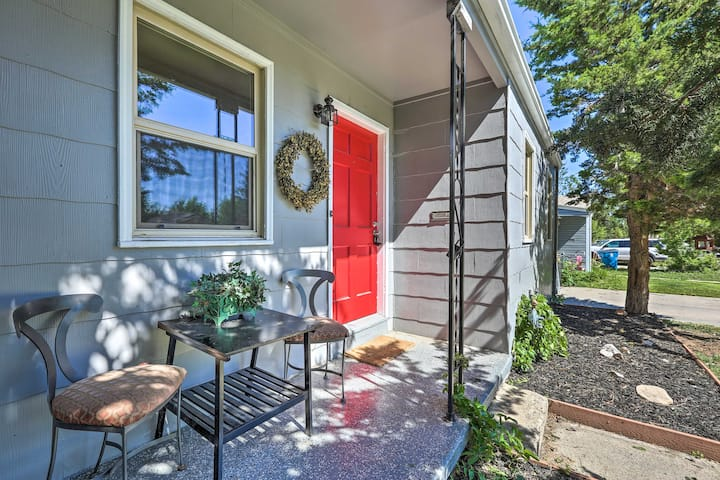 NEW! Renovated 1940s Urban Cottage: 6Mi to Denver!