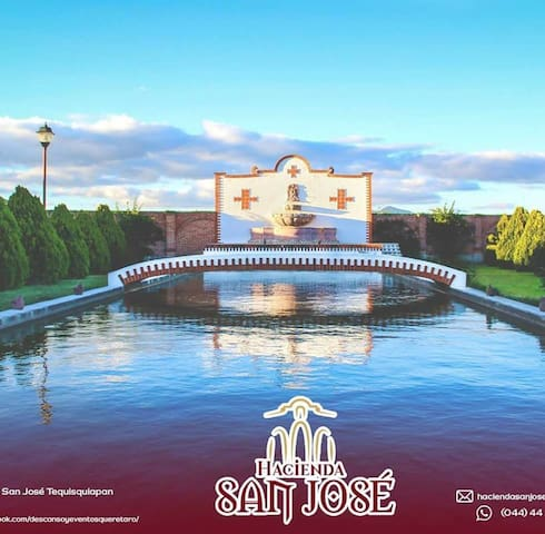Hacienda San José Tequisquiapan, descanso y evento