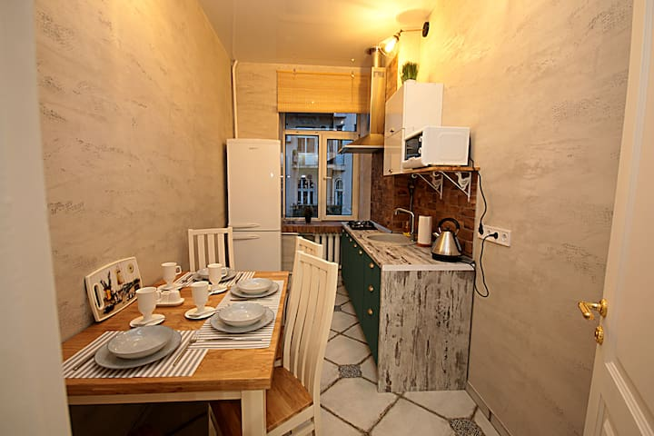 Апартаменты с 2-я спальнями Майдан,ул.Костельная 6