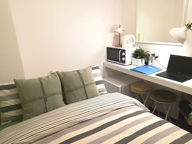 Cozy Apt+10min walk to Downtown Osaka/Umeda#LAOS6
