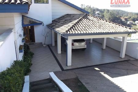 Casa de Campo em Condomínio Fechado - Cajamar - Cabaña