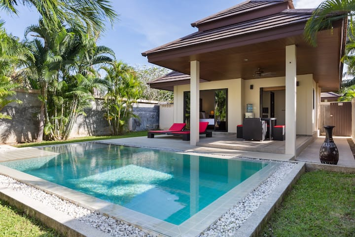 HOUSE 2 PERS PRIVATE POOL PHUKET