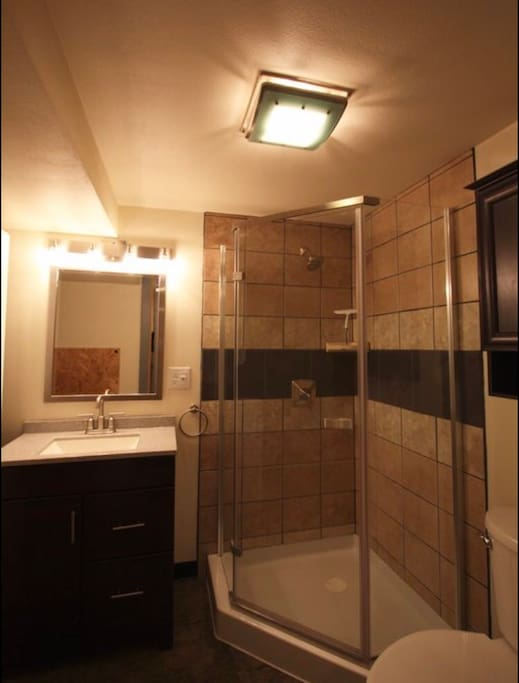 Private Bathroom - Also has washer and dryer