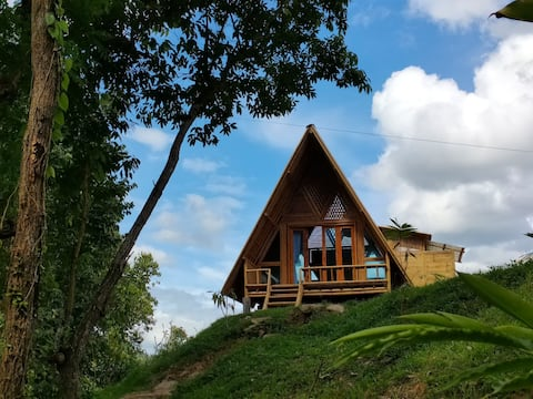 Chai Lai jungle bungalow- a sustainable bamboo eco lodge on the river