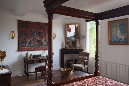 Chambre Renaissance à La Maison des Délices - Rabastens