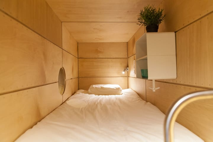 Слипбокс 14 - капсула в коворкинг-центре. - Khimki - Bed & Breakfast